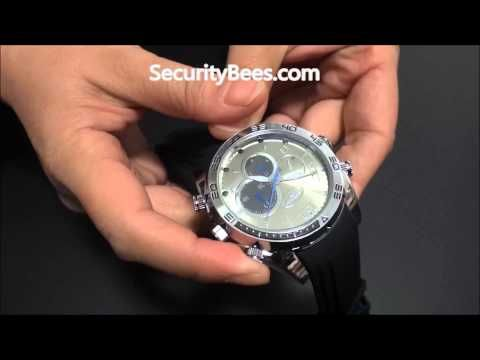 spy watch camera for men