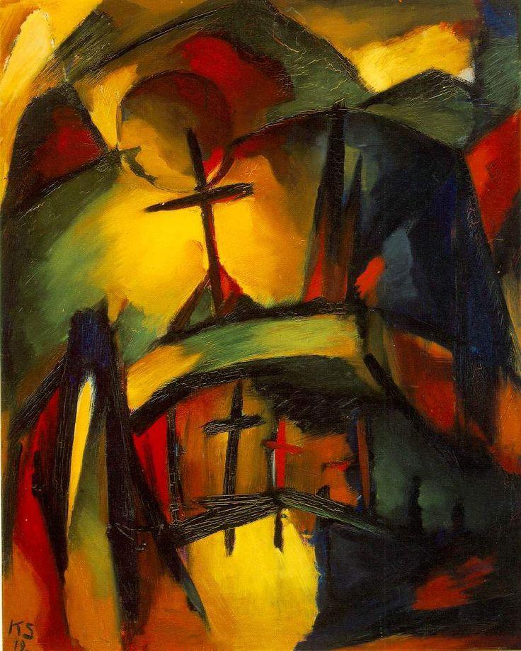 Mountain Graveyard — Курт Швиттерс 1887 — 1948