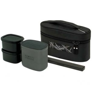 Slim Fit Stainless Steel Lunch Box set 930ml $26.99