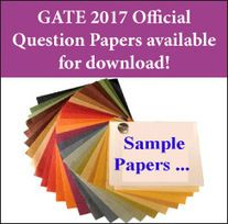 GATE 2017 Question Papers available for download!