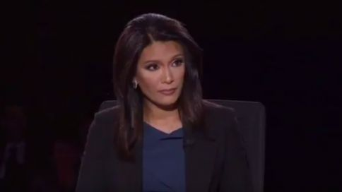 10/04/16 CBS Moderator (and SHILL for the Media / 'Democrat' party) Repeatedly Challenged Pence in VP Debate ~ CBS News anchor and moderator Elaine Quijano repeatedly interrupted and attacked Gov Mike Pence during the 2016 vice presidential debate in Farmville, Va. She then criticized Pence for failing to answer questions when he was unable to get a word in with constant interruptions from Sen Tim Kaine. (PinEd: Her questions were obviously biased. Her & Kaine's performances: 100%…