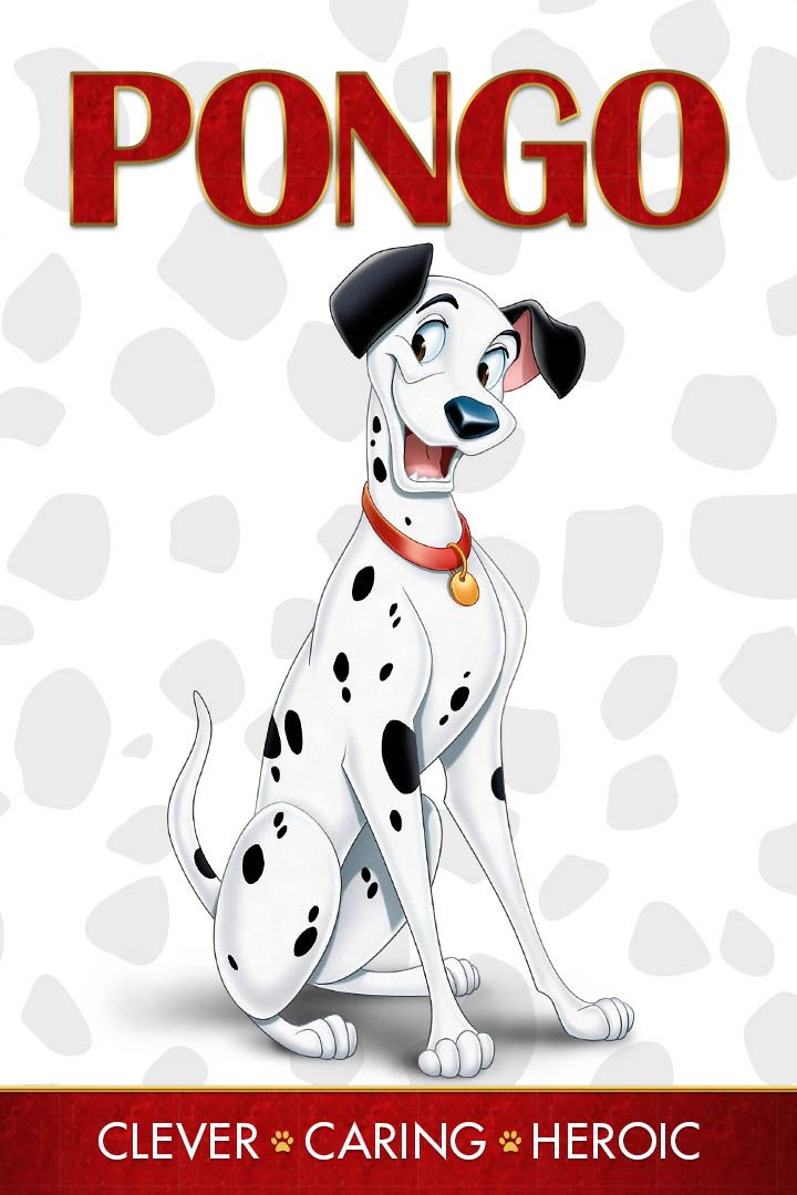 Pongo - Clever, Caring, and Heroic.