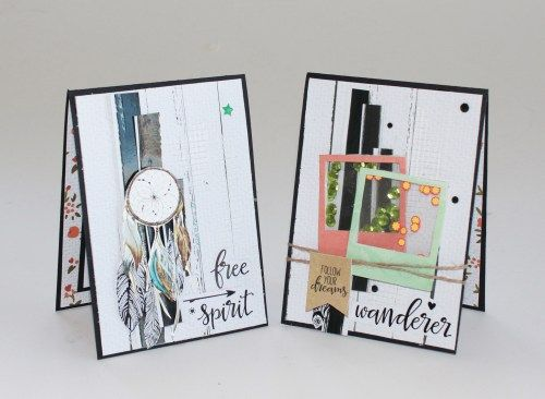 Kaisercraft 'Boho Dreams' cards by Kirstin Hyde Design Team member. MYHYDEAWAY - 2