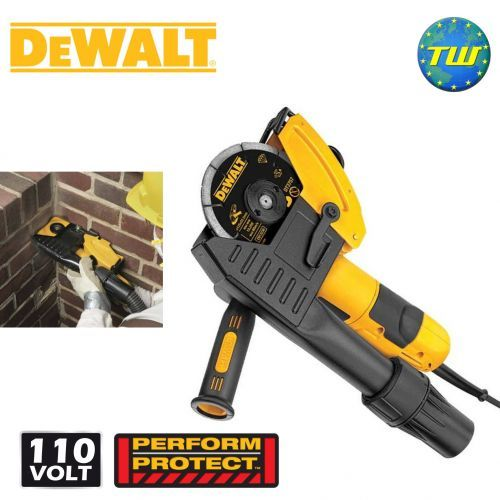 http://www.twwholesale.co.uk/product.php/section/10392/sn/DeWalt-DWE46101-LX DeWalt DWE46101 125mm 110V Mortar Raking Kit incorporates a powerful 1100W motor to make light work of racking tasks. The fitted shroud enables the collection of potentially harmful dust whilst racking out, keeping you safe and your work zone clean. While a direct airlock compatibility feature allows for the quick and secure connection to extraction units.