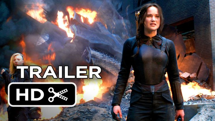 "The Hunger Games: Mockingjay - Part 1 Official Final Trailer (2014)  ""If we burn you burn with us!"" SO excited!!!!"
