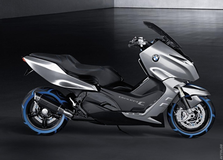 2010 BMW Scooter C Concept