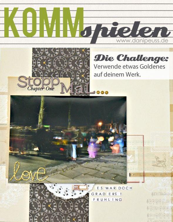 #KommSpielen Challenge von Melanie Vogt für www.danipeuss.de | Goldener Oktober