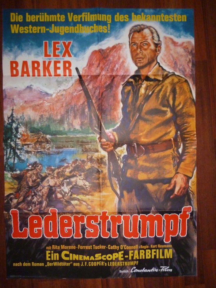 Lederstrumpf  / Original Filmplakat - mit Lex Barker