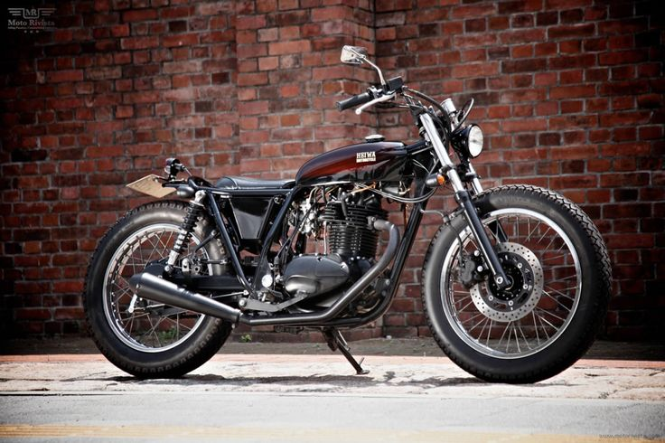 Kawasaki 250TR by HEIWA Motorcycle