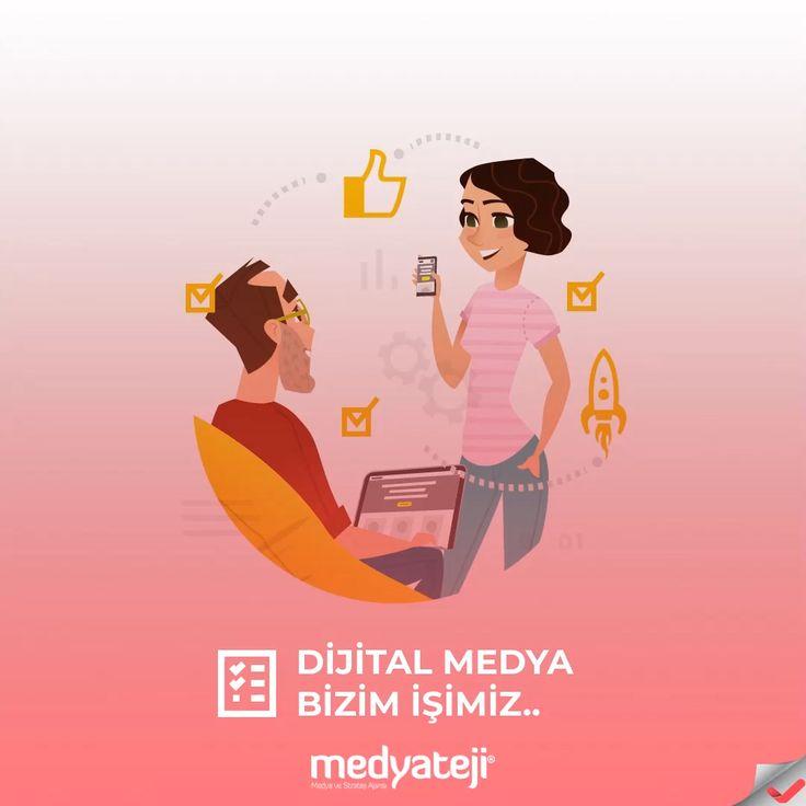 Medyateji, işletmelerin sosyal medyadan, eticarete, SEO'dan dijital PR'ına kadar komple hizmet veren bir ajanstır.  --> @medyateji  #medyateji #dijitalmedya #digitalmarketing #SEO #eticaret #dijitalPR #sosyalmedya