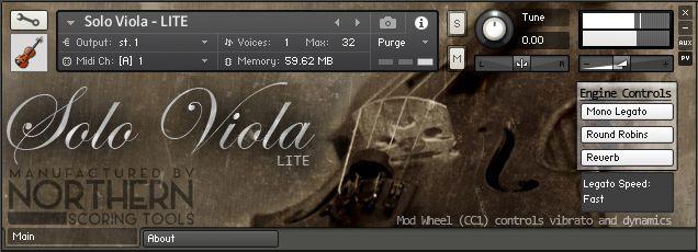 Solo Viola Lite | Northern Scoring Tools
