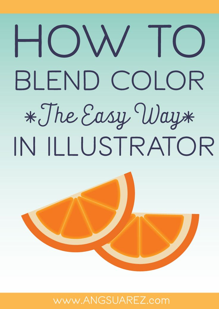 Feeling frustrated trying to color in Illustrator? I'll walk you through a quick 5-minute way you can blend color and create depth instantly!
