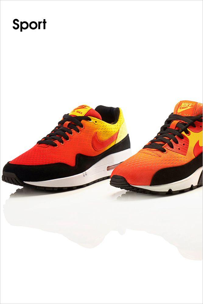 Nike \u2022 Ideal ausgestattet zum Laufen an hei�en Sommertagen ist der Air Max  von Nike mit