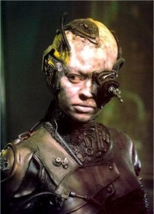 "Star Trek Voyager - Episode ""Scorpion II"" (Seven of Nine)."