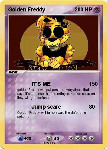 10 Best Fnaf Pokemon Cards Images On Pinterest Pok 233 Mon