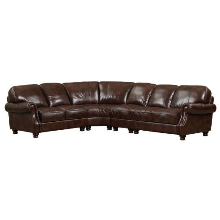 Bassett Bradford Leather Sectional : Leather Furniture Expo