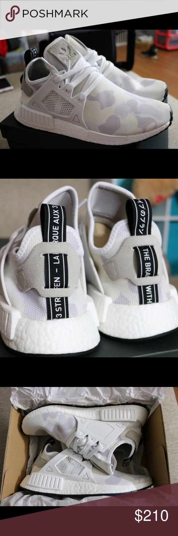 Adidas NMD XR1 Camo White Mens Brand New in Box w/ tags 100% Authentic Adidas NMD XR1 Camo White FREE Shipping on U.S. Orders Size 9 ONLY for Mens Adidas Shoes Athletic Shoes