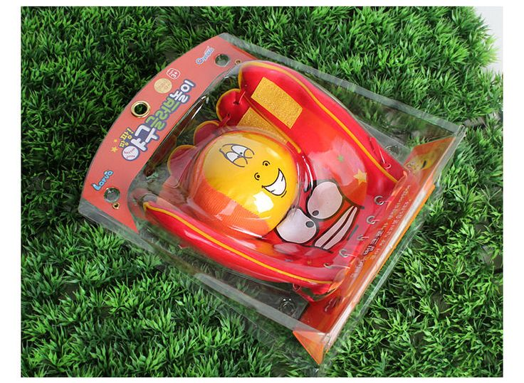 Korea Cartoon Larva Official Goods Soft Foam Easy Catch Glove and Ball Set #Larva
