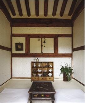 Korean traditional house called Han-Ok