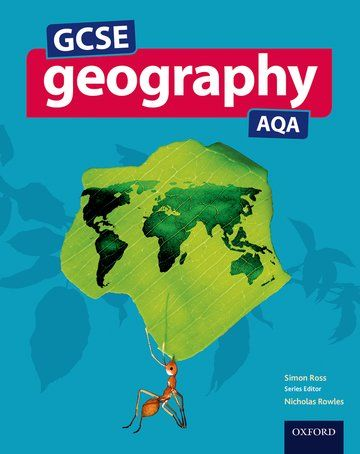 GCSE Geography AQA Student Book for the 2016 specification | GCSE geography resources | book covers
