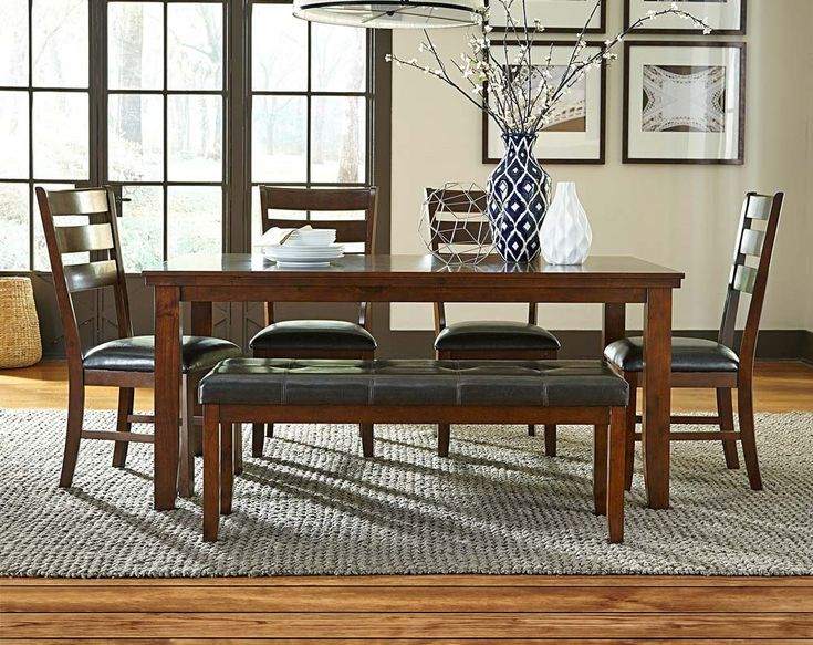 Anniston Dining Collection Dining 5 Piece Dining Set