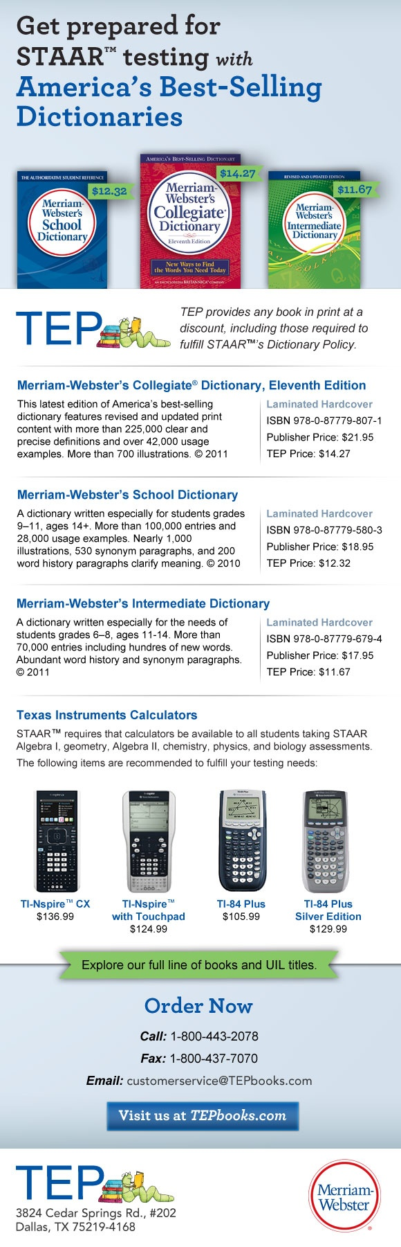 7 best test prep images on pinterest test prep act tests and discounts on dictionaries that meet staar testing requirements fandeluxe Images
