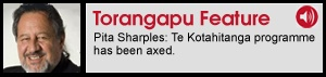 Māori Affairs and Associate Education Minister Pita Sharples says Te Kotahitanga is being replaced by a new scheme called Building on Success. Dr Sharples says the Māori Party has supported Te Kotahitanga, but it's a very expensive programme that was controlled by an outside body, Waikato University's School of Education. Pita Sharples says the Māori Party is pushing for adoption of the Tataiako cultural competence framework, which teaches school communities how to respect Māori culture.