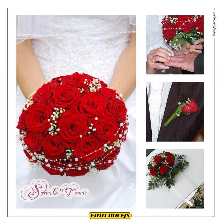 Sylvie a Tomáš, svatební květiny