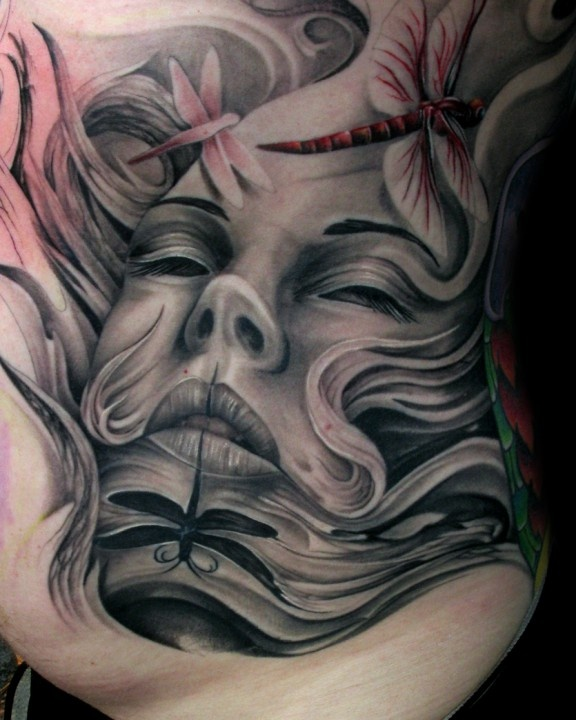 43 best images about tattoos by tony mancia on pinterest - Wicked 3d tattoos ...