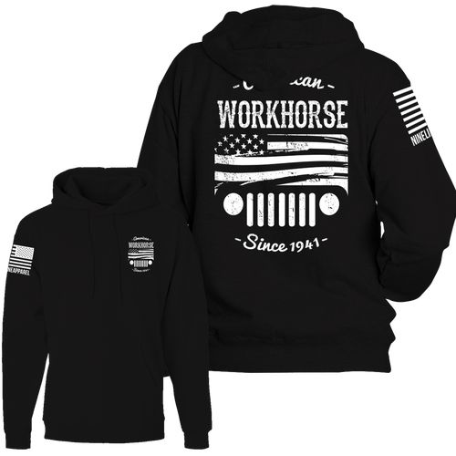 Ninelline apparel great products company is run by two former soldiers and every purchase they donated to wounded warrior project plus one of the ones drives a jeep if you needed more incentive to buy one of these awesome hoodies/tshirts/long sleeve.. This design is limited time.
