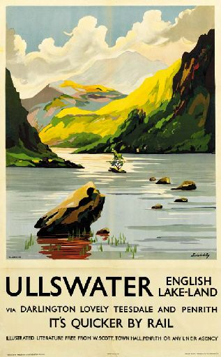 Ullswater via Darlington lovely Teesdale and Penrith - English Lake-Land - 1933…