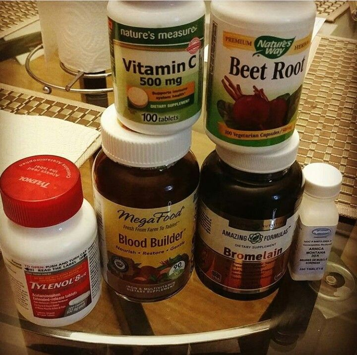Supplements to take pre op Mommy makeover surgery