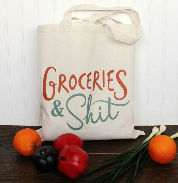 the perfect tote for anyone who likes to swear.