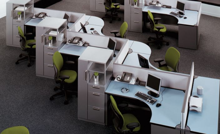 Office Furniture Layout Corporate