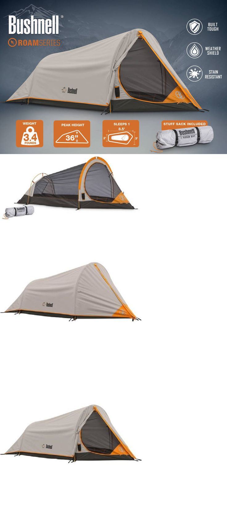 Tents 179010 1 person tent 8 5 x3 bushnell 4 season shield backpacking tent hunting