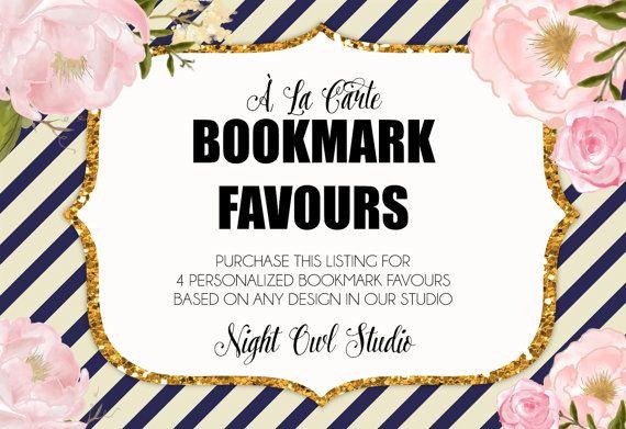 Bookmark Favours-À La Carte Storybook by NightOwlStudioDesign