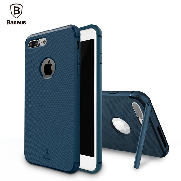 Find More Phone Bags & Cases Information about Baseus Cover For iPhone 7 Case For iPhone 7 Plus Case Hard Back Fashion Kickstand Holder Cover Hermit Bracket Case Free Shipping,High Quality case pdair,China case xperia Suppliers, Cheap case for nokia x3 from Ranshine (HK) Technology Co., Ltd. on Aliexpress.com