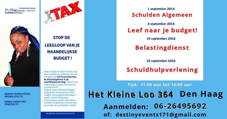 1 Sep - Start informatiedagen - Stop leegloop budget - http://www.oktip.nl/1-sep-start-informatiedagen-stop-leegloop-budget/