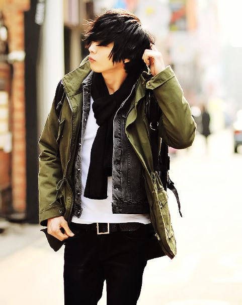 Korean Men Fashion | Clothes - Casual | Pinterest | Fall winter outfits Urban and Korean street ...