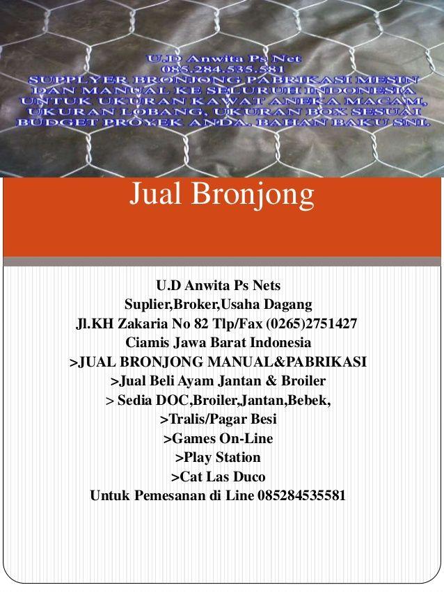 Jual bronjong by Anwita Ps Nets via slideshare
