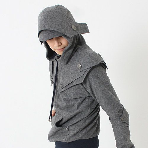 Arthur Knight  Medieval Armor Pullover Hoodie(100% Handmade Wool). $1200nok