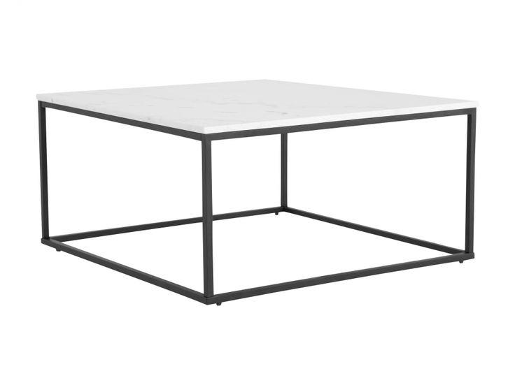 CARRIE Sofabord 90 Svart/Hvit i gruppen Innendørs / Bord / Stuebord hos Furniturebox (100-78-94234)