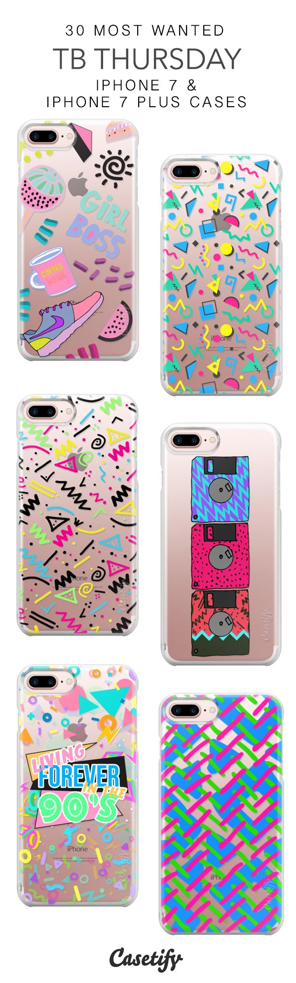30 Most Wanted TB Thursday Protective iPhone 7 Cases and iPhone 7 Plus Cases. More 90s Vibes iPhone case here > https://www.casetify.com/collections/top_100_designs#/?vc=o1sjDUvoa6 #iphonead,