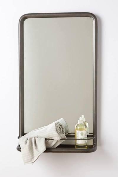 Cool HiB Delby Bathroom Mirror With Shelf
