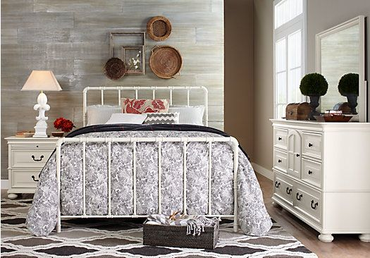 Magnolia Springs White 5 Pc Queen Bedroom . $1,199.99.  Find affordable Bedroom Sets for your home that will complement the rest of your furniture.