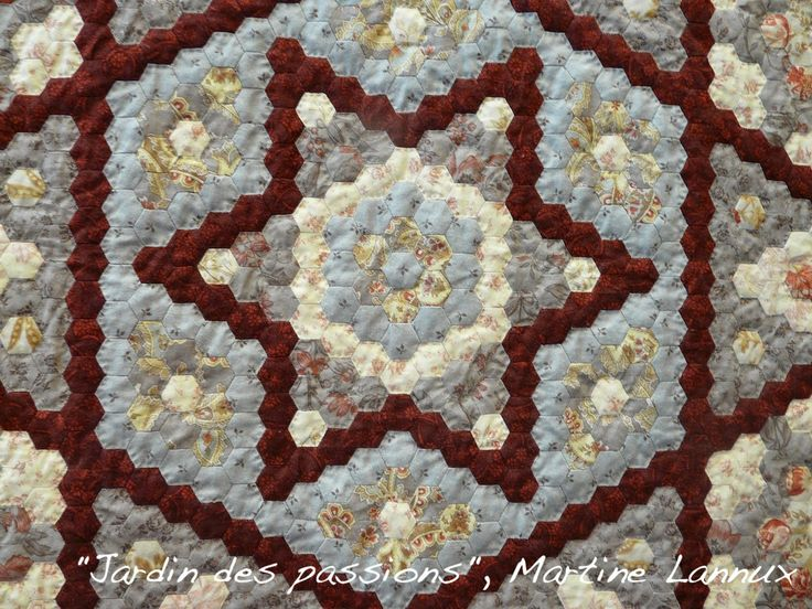 17 Best Images About English Hexagons On Pinterest