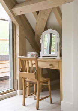 Oak frame bedroom