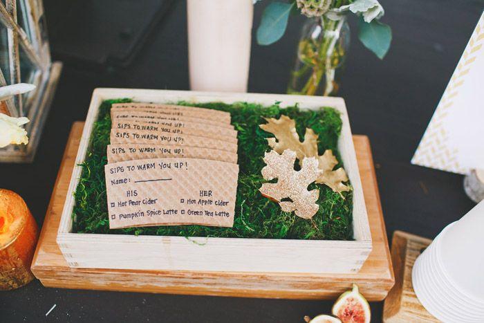 Modern Fall Wedding ::Inspired::   Christine Farah Photography