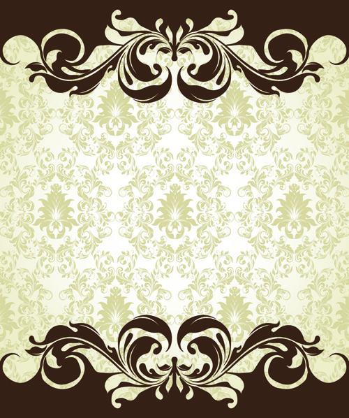 Free Vintage Flower Graphics | Vintage Floral Design Vector Background | Flower Vector | Abstract ...