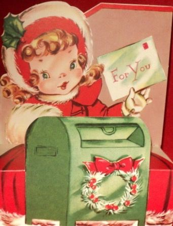 62 best Writing & sending Christmas Greetings. Vintage Christmas ...